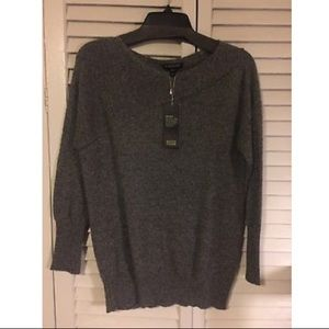 Eileen Fisher Cashmere NWT Bateau Neck Sweater